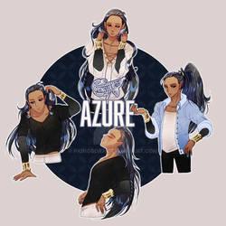Speedpaint - Jesterkimi - Azure