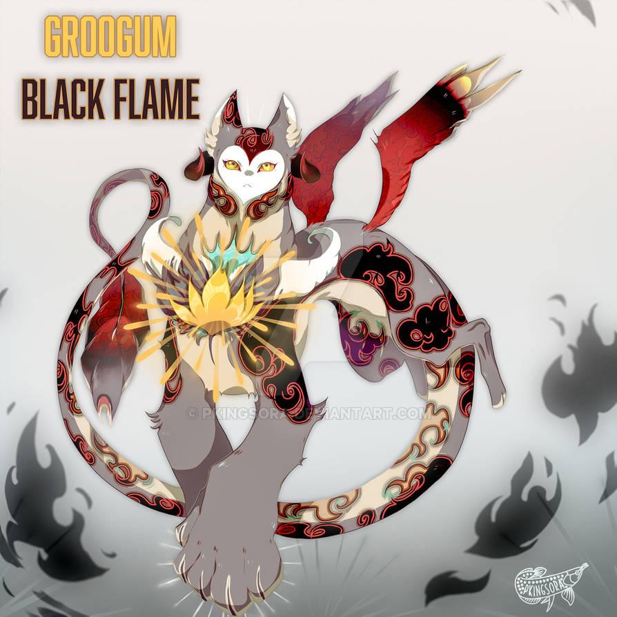 Cs Gruugom Black Flame Auc CLOSED