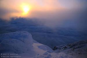 Skies Below by Hestefotograf