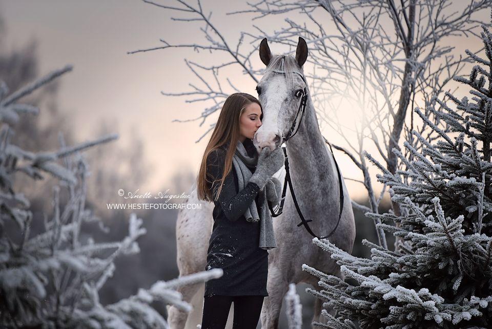 Christmas Kisses by Hestefotograf