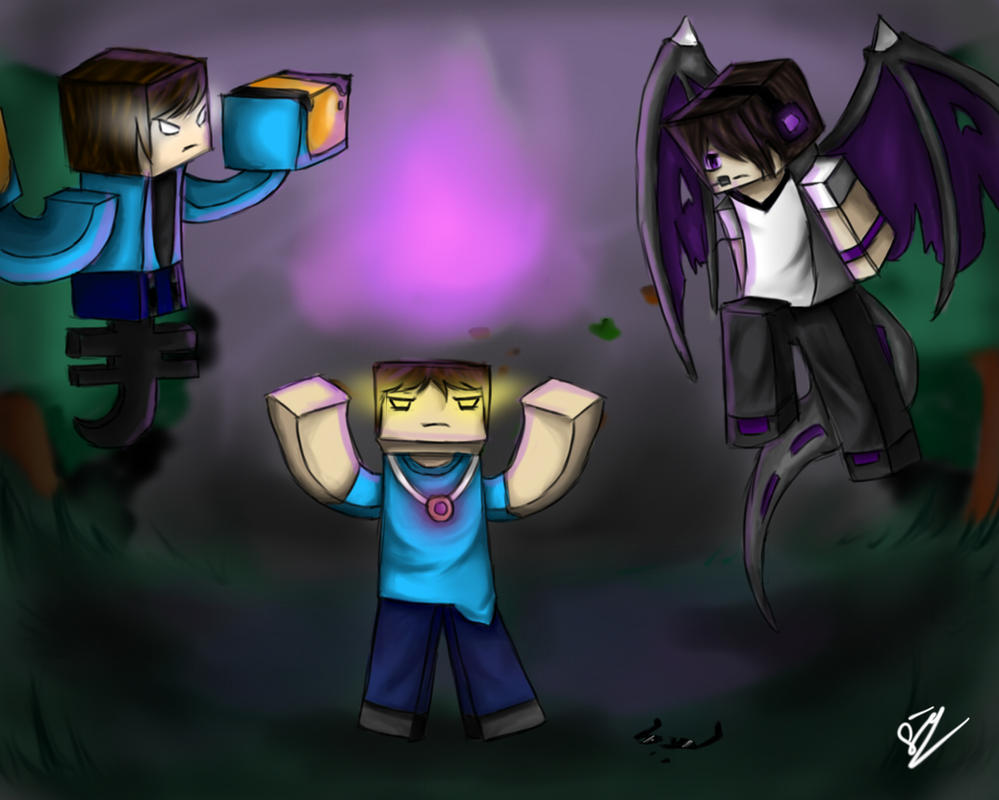 Enderlox , Skybrine and WitherMU by iDarkening on DeviantArt