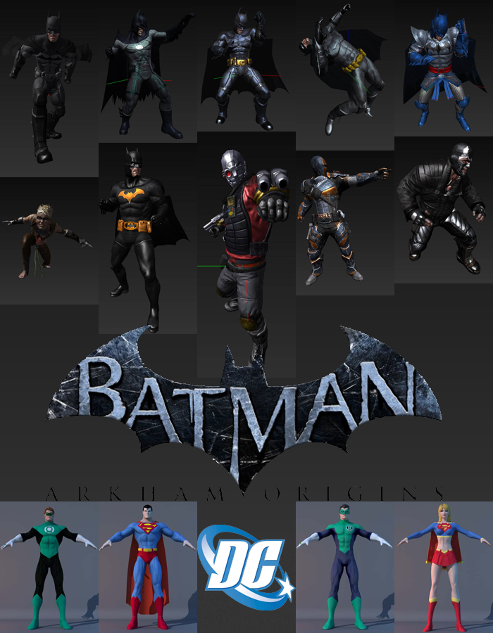 Dc Universe 3d Models By Funcohd On Deviantart