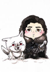 Jon Snow by bua