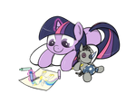 Commission: Filly Twilight
