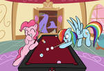 Commission: Game of Billiards