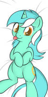 Commission: Lyra Pillow Front