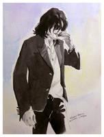 A shy man. by HitomiOsanai