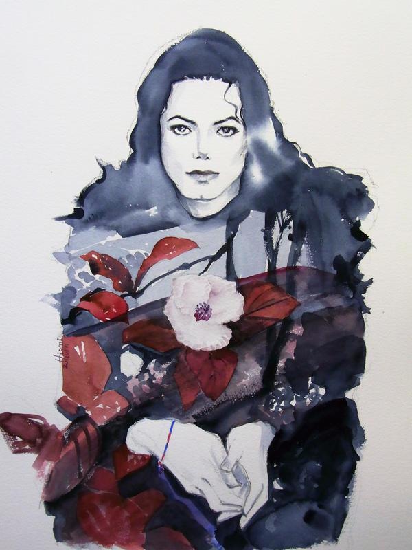 Michael Jackson Scream red by HitomiOsanai