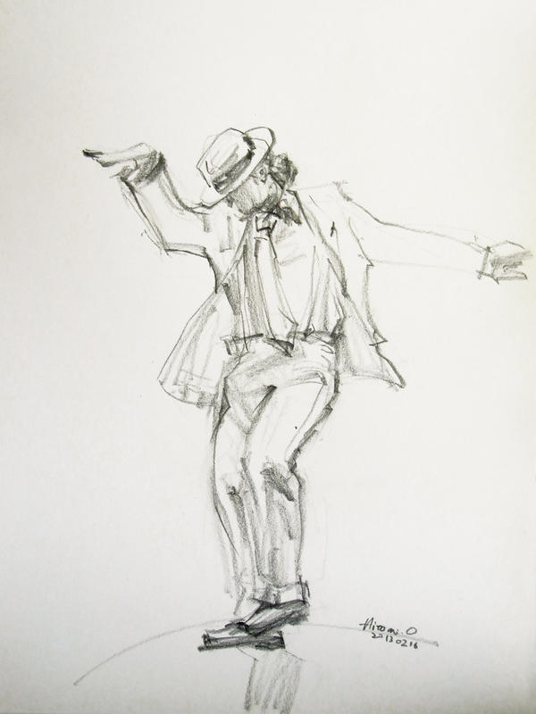 michael jackson sketch smooth - photo #10