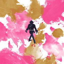 Silhouette Pink by HitomiOsanai