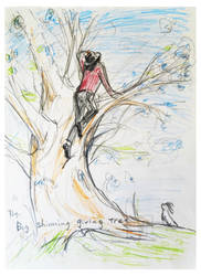 Giving tree Sketch by HitomiOsanai