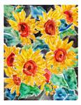 Sunflowers by HitomiOsanai