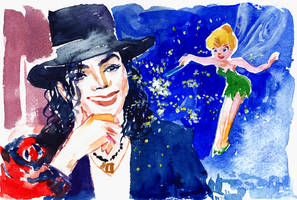 Michael Jackson and Tinker Bell