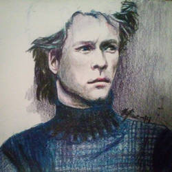 Work In Progress: Color Pencil Jon by ShiroLuna