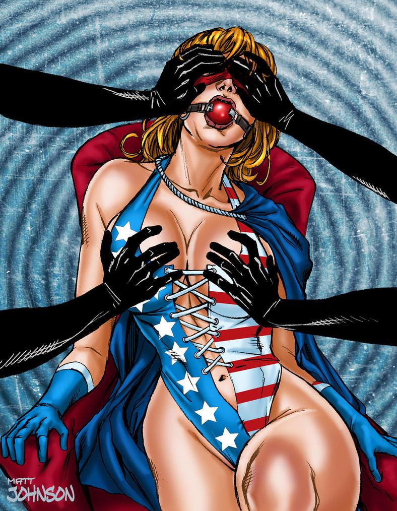 American Avenger By Super heroine Art by vesta10