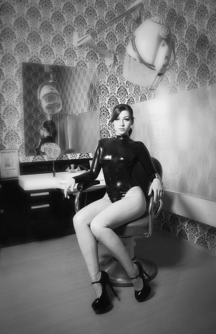 At the beauty salon by SenoritaPepita