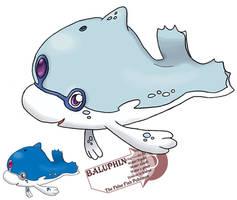 insert Generic dolphin Pokemon by G-FauxPokemon