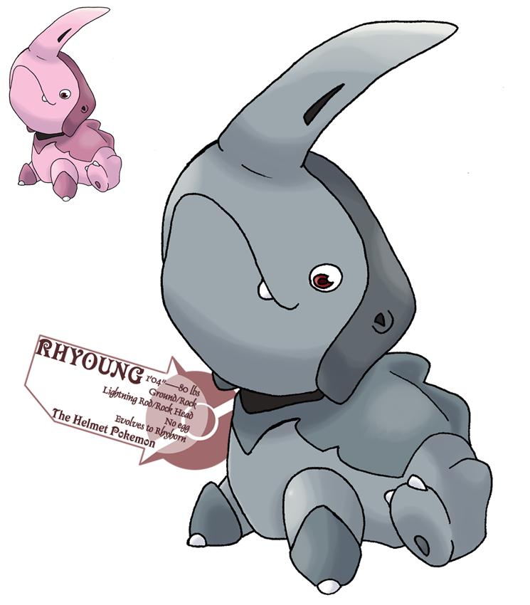 Pokemon Rhydon Sprite Images | Pokemon Images