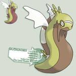 Desert snake... with wings?