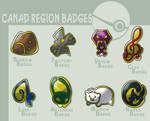 Canad gym badges