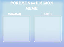 Pokemon digimon meme