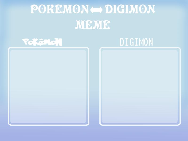 Pokemon digimon meme by G-FauxPokemon