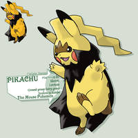 Pikachu's new forme by G-FauxPokemon