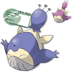 hot skitty and Wailord action
