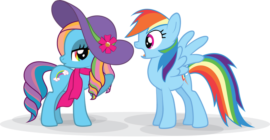 Rainbow Dash Always Dresses In Style By Marinapg On Deviantart