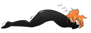 Inchworming MummyMel