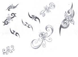 Girly Tribal Designs by LBalch86