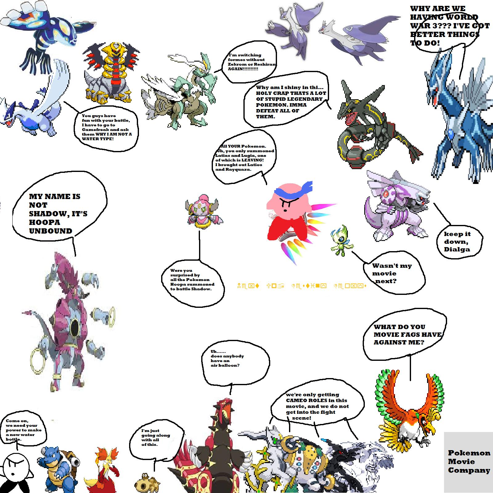 Comic 111 Hoopa And The Clash Of Ages By Poyoride On Deviantart