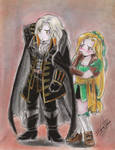 Alucard y Maria Chibis