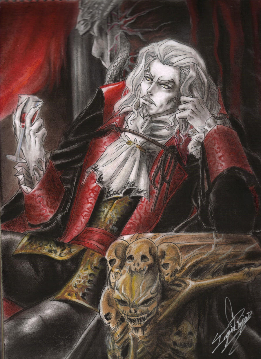 Dracula Symphony by ClAyMoRe--MiRiA