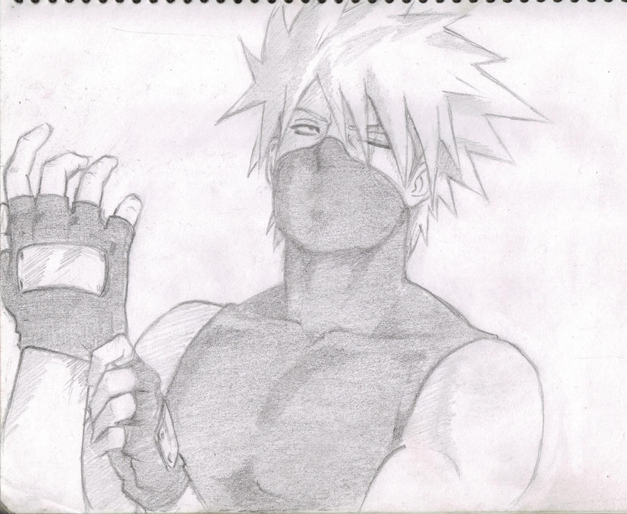 Kakashi Sexy by ClAyMoRe--MiRiA