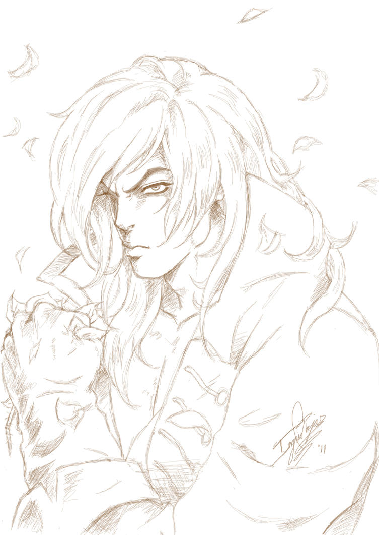 Richter sketch by ClAyMoRe--MiRiA