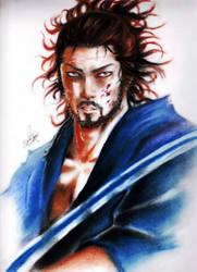 The swordsman by ClAyMoRe--MiRiA
