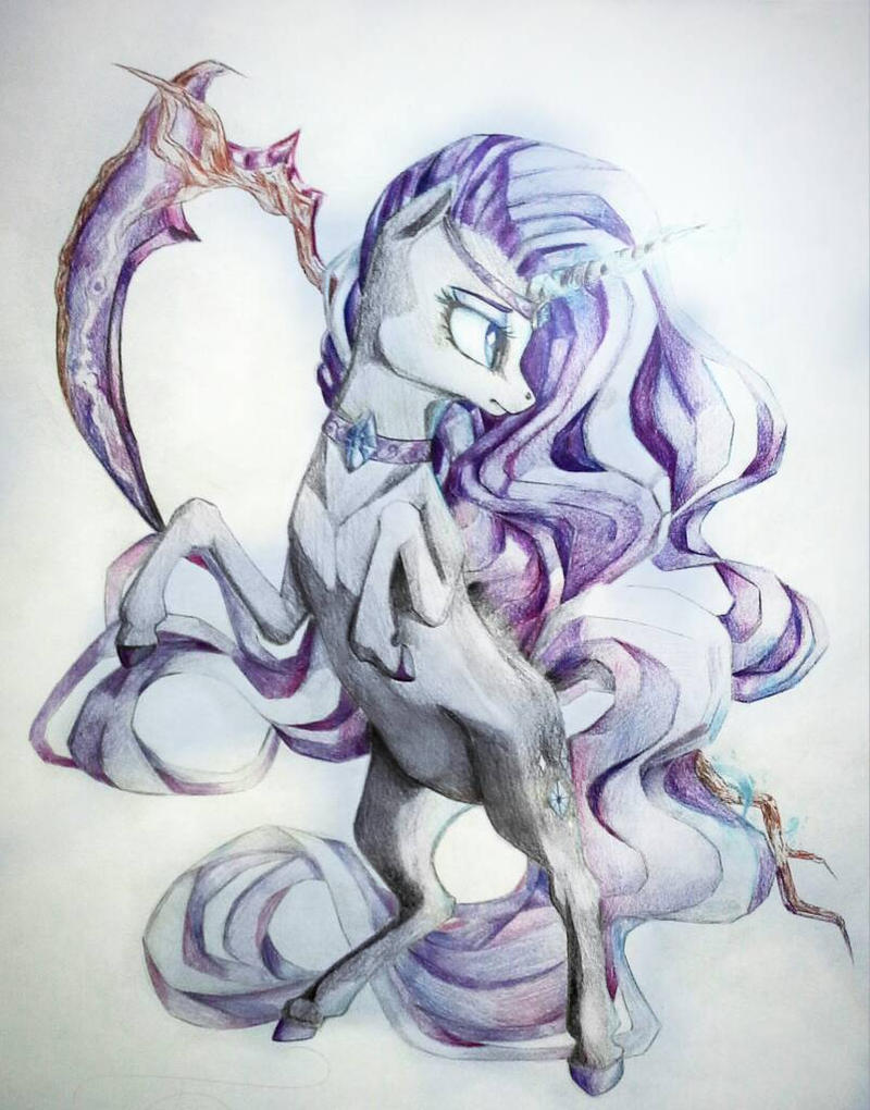 Nightmare Rarity by GLaSTALINKA