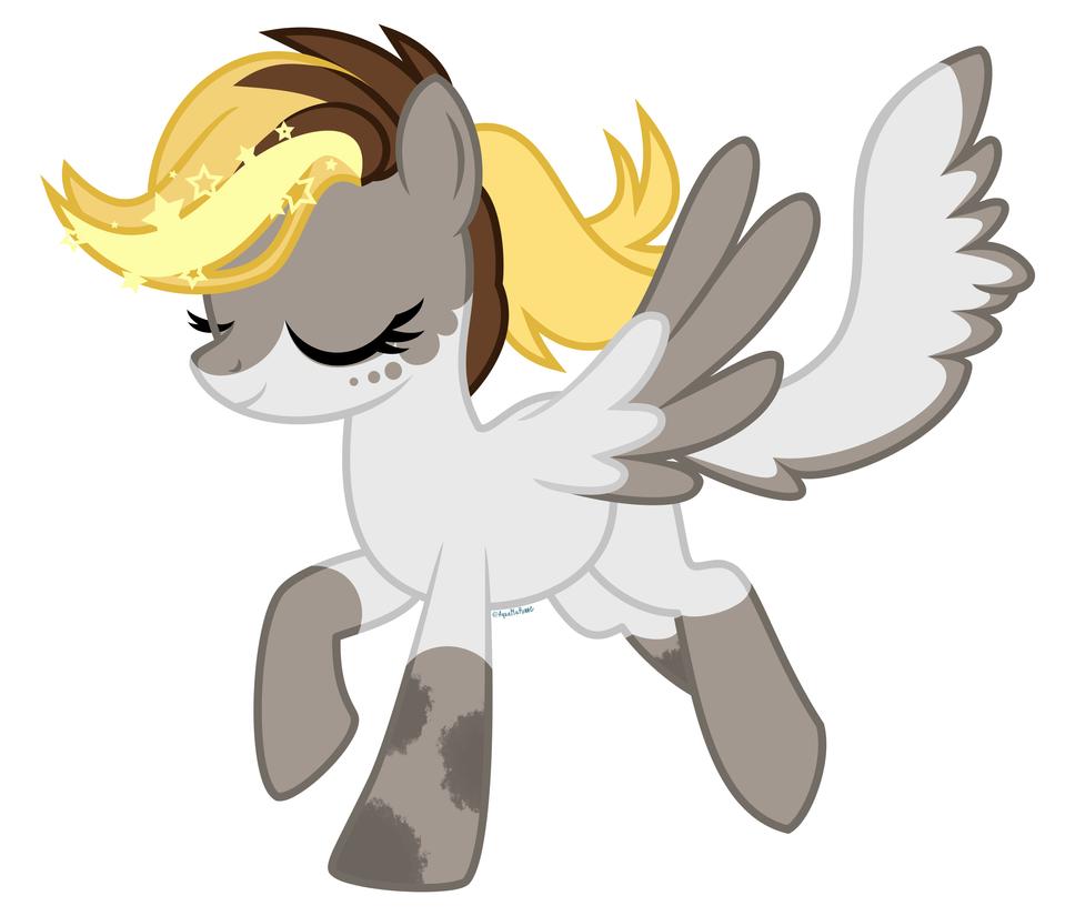 Star pony comission by GLaSTALINKA