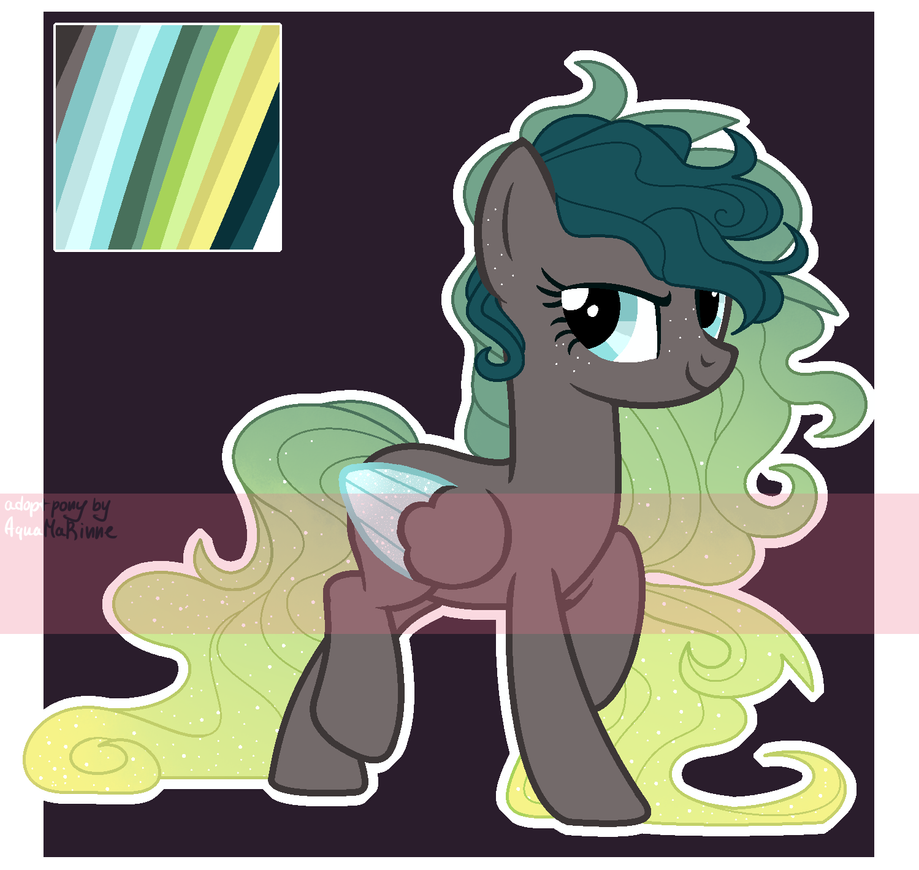 Adoptable: Lime Comet [Closed] by GLaSTALINKA