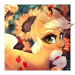 Sunshine Girl [AppleJack] by GLaSTALINKA