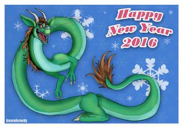 Happy New Year 2016! by FrozenFerocity