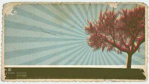 tree color- vintage