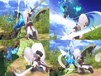 Altair vs Lucario page 11