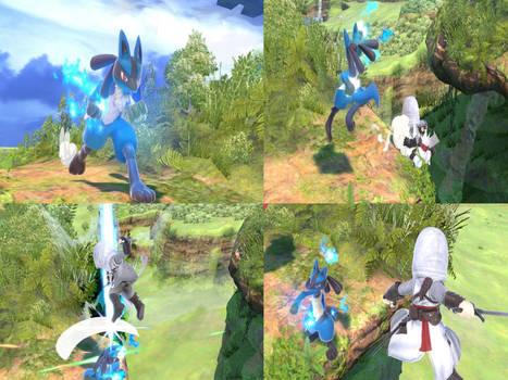 Altair vs Lucario page 13
