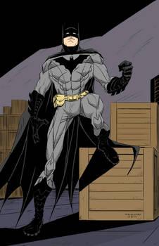 Batman Commission in color