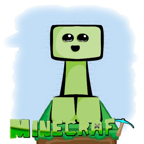 Minecraft - Baby Creeper by master0500 on DeviantArt
