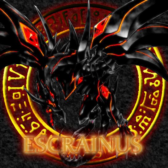 redeyes darkness dragon by escrainus on deviantart