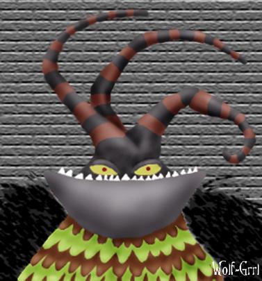 Harlequin Demon by wolf-grrl by Bridal-Nightmare on DeviantArt