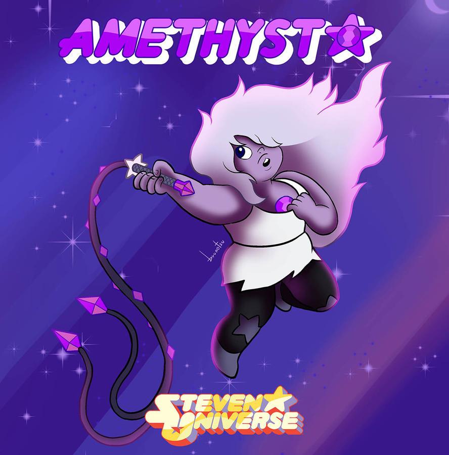 Crystal Gems - Amethyst by brunotsu